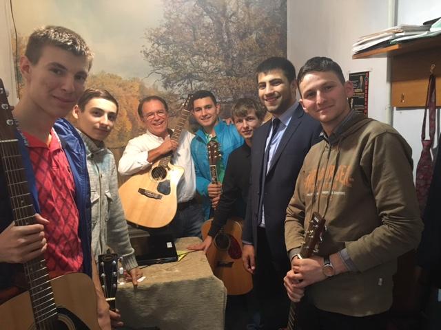 Guitar Class in Komrat, Moldova